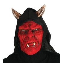 Halloween Masker Duivel volledig