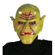 Halloween Masker Orc driekwart