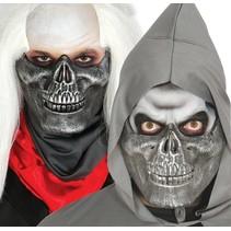 Halloween Masker Skelet half