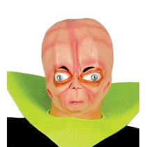 Halloween Masker Alien 3D volledig