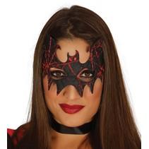 Halloween Oogmasker Vleermuis