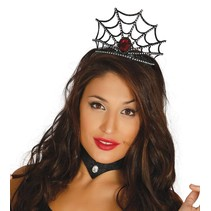 Halloween Haarband Spinnenweb