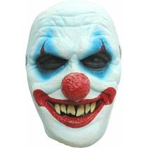 Halloween Masker Clown Scary Deluxe voorkant