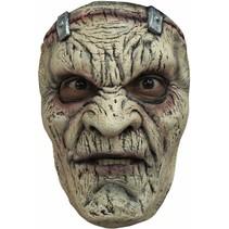Halloween Masker Frankenstein Deluxe voorkant