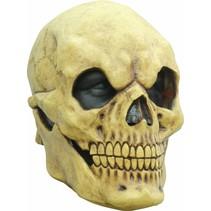 Halloween Masker Schedel Angry Deluxe volledig