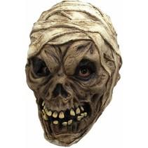 Halloween Masker Mummy Lijk Deluxe volledig