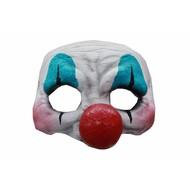 Halloween Masker Clown Deluxe - half