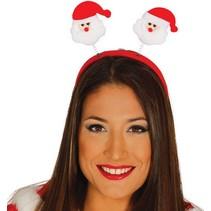 Kerst Haarband Kerstman