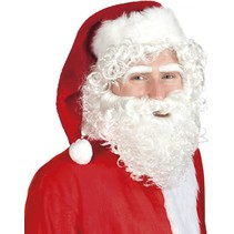 Kerstman Baard Set