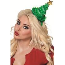 Kerst Haarband Kerstboom met ster