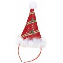 Kerst Haarband Kerstmuts Deluxe