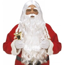 Kerstman Baard en Pruik Origineel