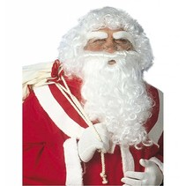 Kerstman Baard en Pruik Santa