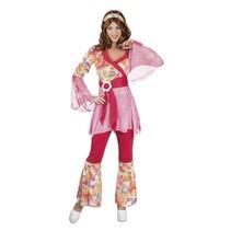 Hippie Kostuum Dames Roze