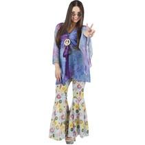 Hippie Kostuum Dames Flowers