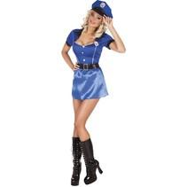 Politiepak Dames Blauw medium