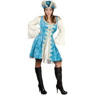 Piratenpak Dames Blauw