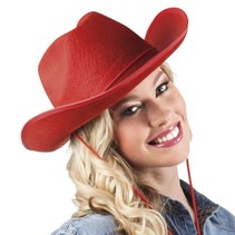 Cowboyhoed Rood