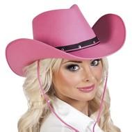Cowboyhoed Roze Toppers