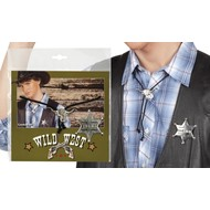 Sheriff Badge en Ketting Toppers