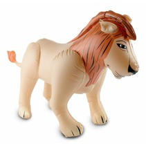 Opblaas Leeuw 80cm