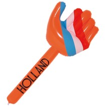 Opblaasbare Hand Oranje 70cm