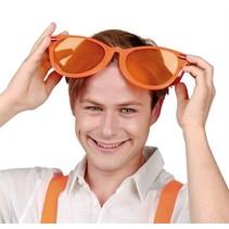 Oranje Mega Bril