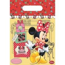 Minnie Mouse Uitdeelzakjes Versiering 6 stuks