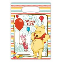 Winnie The Pooh Uitdeelzakjes Versiering 6 stuks