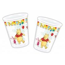 Winnie The Pooh Bekers 200ml 8 stuks