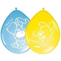 Woezel en Pip Ballonnen Versiering 30cm 8 stuks