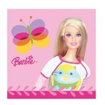 Barbie Servetten Versiering 20 stuks