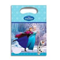 Frozen Uitdeelzakjes Ice Skating 6 stuks