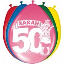 Sarah Ballonnen 30cm 8 stuks
