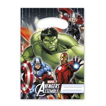 Avengers Uitdeelzakjes 6 stuks
