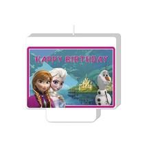 Frozen Kaars Happy Birthday 9cm
