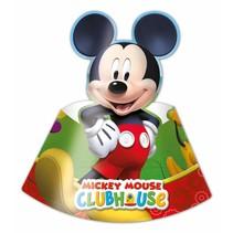 Mickey Mouse Hoedjes 6 stuks