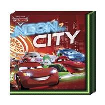 Cars Servetten Neon 20 stuks