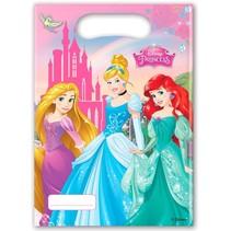Disney Prinsessen Uitdeelzakjes Versiering 6 stuks