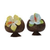 Kokosnoot Beker Hawaii 10cm