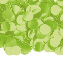 Lime Groene Confetti 1kg