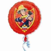 Fireman Sam Helium Ballon 43cm leeg