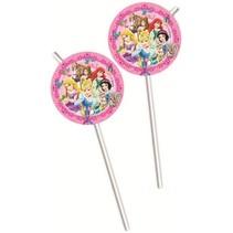 Disney Prinsessen Rietjes Dieren 6 stuks