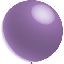 Lavendel Reuze Ballon XL Metallic 91cm
