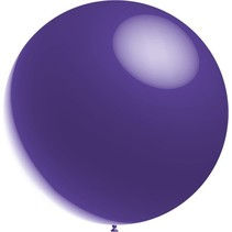 Paarse Reuze Ballon XL Metallic 91cm