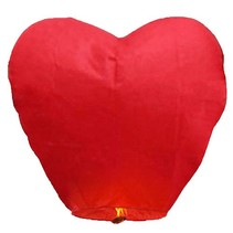 Wensballon Hart XL Rood 1 meter