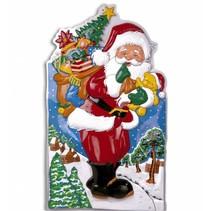 Kerstman Wanddecoratie 90cm
