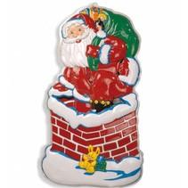 Kerstman Wanddecoratie Schoorsteen 98cm