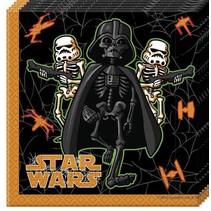 Star Wars Halloween Servetten 20 stuks