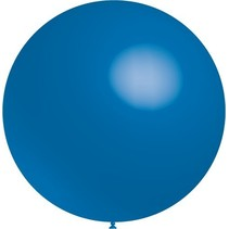 Blauwe Reuze Ballon 60cm